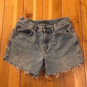 Vintage Ralph Lauren Cut Off Jean Shorts